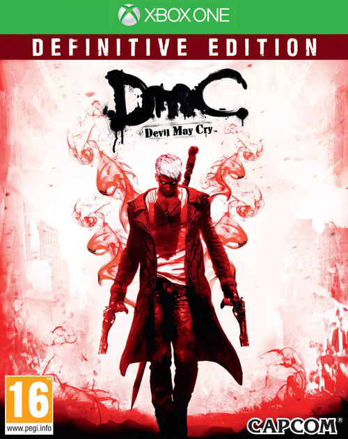 DMC: Devil May Cry Definitive Edition XBOX One Cover