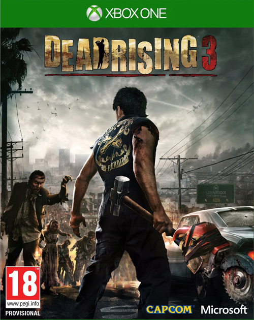 Dead Rising 3 XBOX One Cover