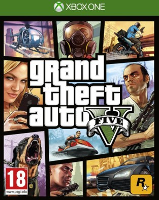 Grand Theft Auto V XBOX One Cover