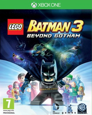 LEGO Batman 3: Beyond Gotham XBOX One Cover