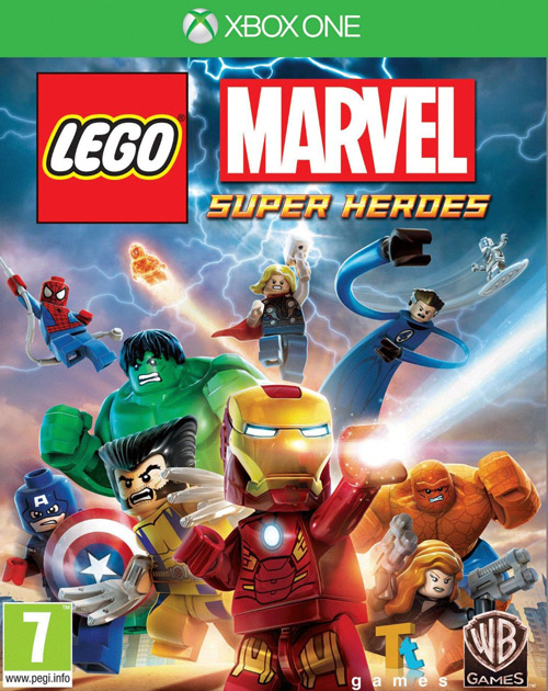 Lego Marvel Super Heroes XBOX One Cover