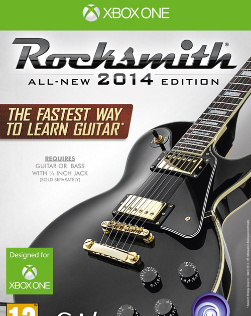 Rocksmith 2014 Edition XBOX One Cover