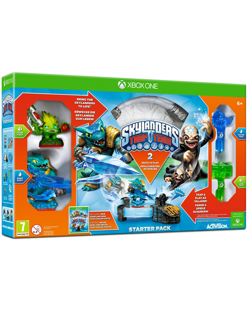 Skylanders Trap Team XBOX One Cover