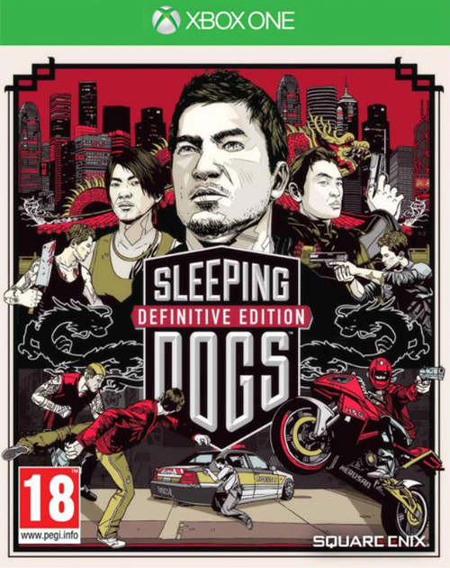 Sleeping Dogs: Definitive Edition XBOX One Cover