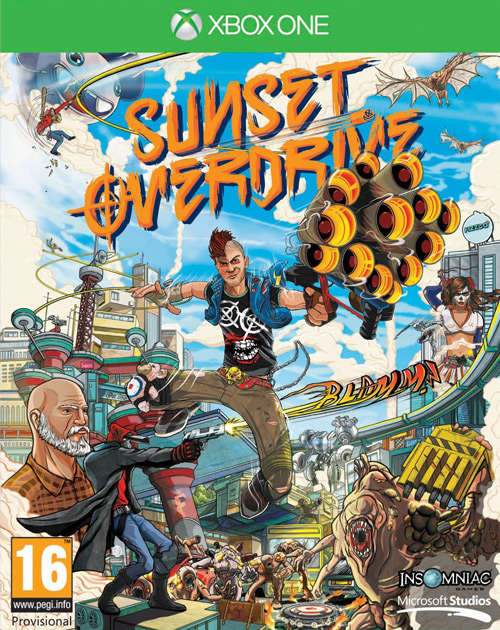 Sunset Overdrive XBOX One Cover