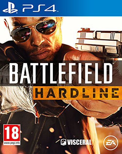 Battlefield Hardline PS4 Cover