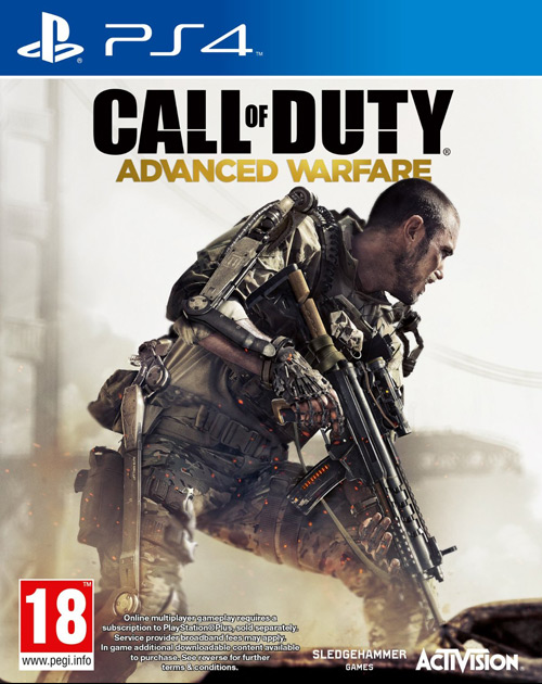 Call of Duty: Advanced Warfare PS4 Cover