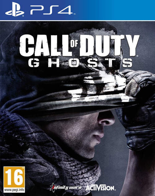 Call of Duty: Ghosts PS4 Cover