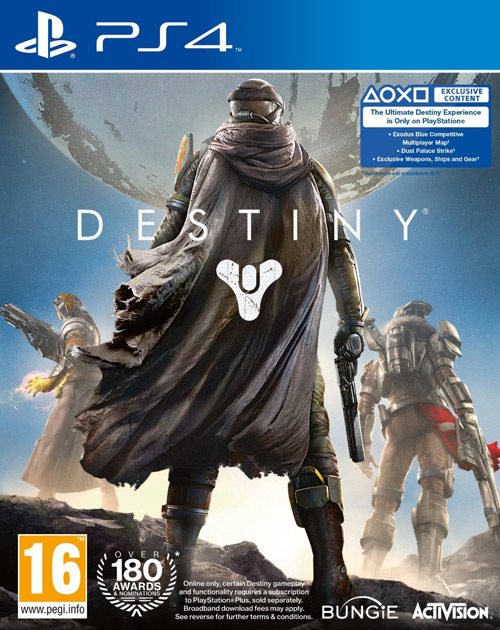 Destiny PS4 Cover