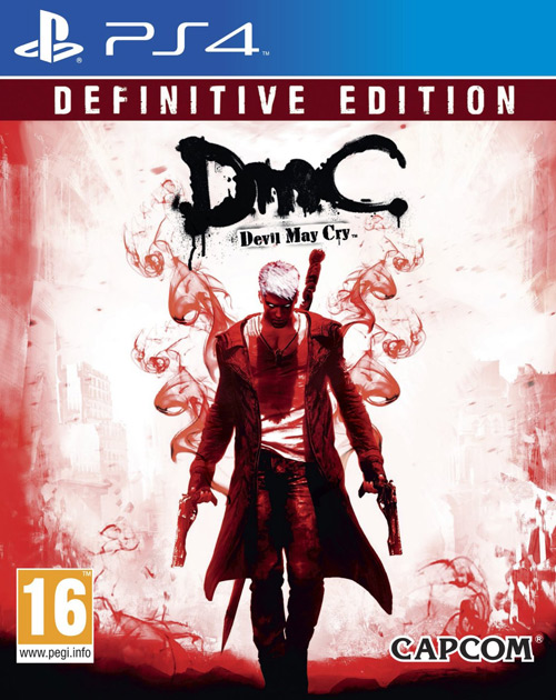 DmC: Devil May Cry - Definitive Edition PS4 Cover
