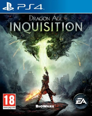 Dragon Age: Inquisition PS4 Cover