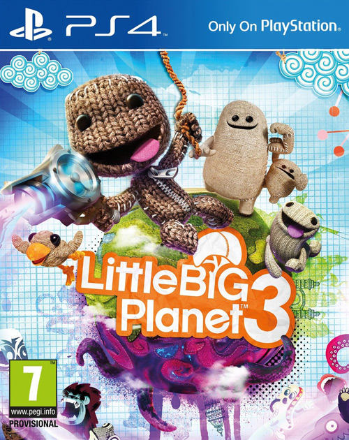 LittleBigPlanet 3 PS4 Cover