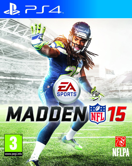 Madden NFL 15 PS4 Cover