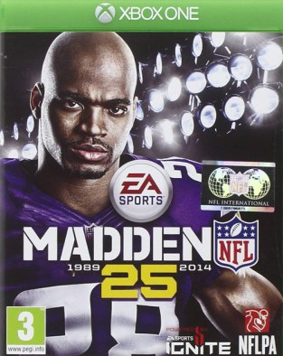 Madden NFL 25 XBOX One Cover
