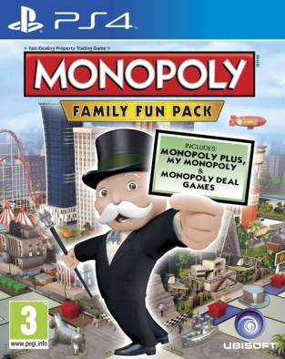 Monopoly: Family Fun Pack PS4 Cover