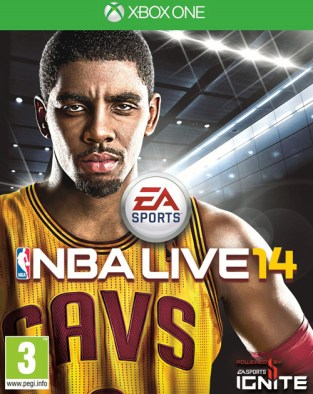 NBA Live 14 XBOX One Cover