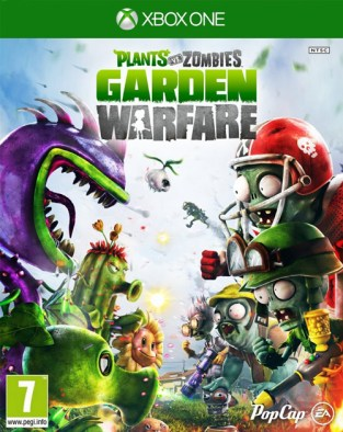 Plants vs. Zombies: Garden Warfare XBOX One Cover