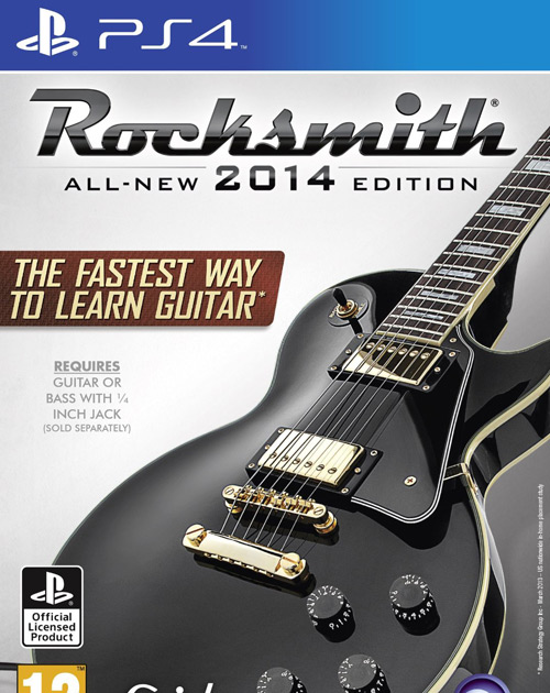 Rocksmith 2014 Edition PS4 Cover