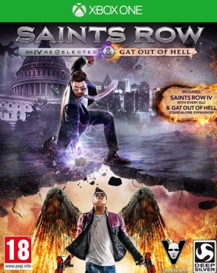 Saints Row IV: Re-Elected & Saints Row: Gat Out of Hell XBOX One Cover