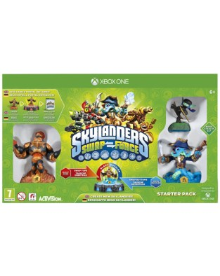 Skylanders Swap Force XBOX One Cover