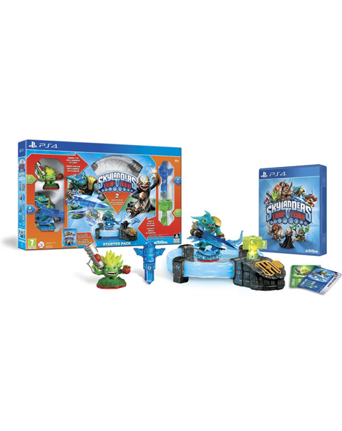 Skylanders Trap Team PS4 Cover