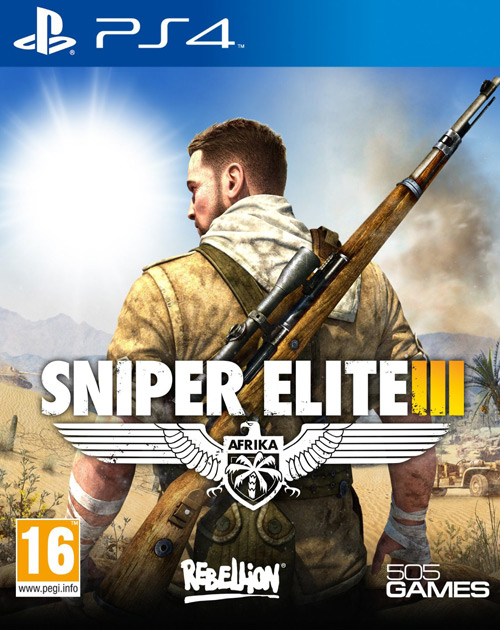 Sniper Elite III PS4 Cover