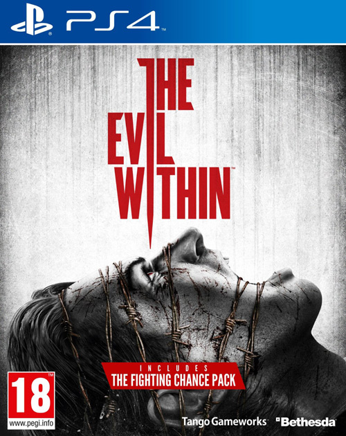 The Evil Within PS4 Cover