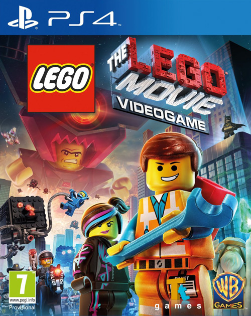 The LEGO Movie Videogame PS4 Cover