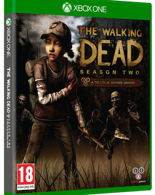 The Walking Dead: Season Two XBOX One Cover