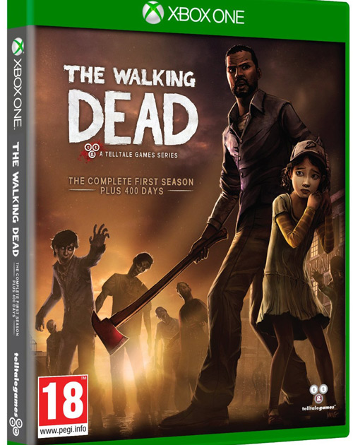 The Walking Dead: The Complete First Season XBOX One Cover