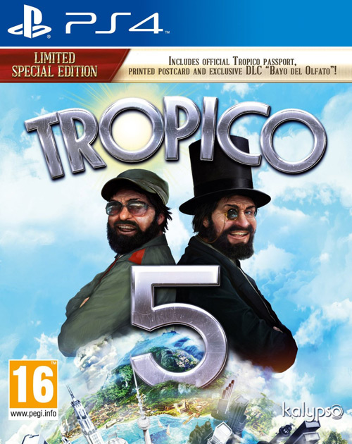 Tropico 5 PS4 Cover