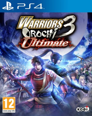 Warriors Orochi 3 Ultimate PS4 Cover