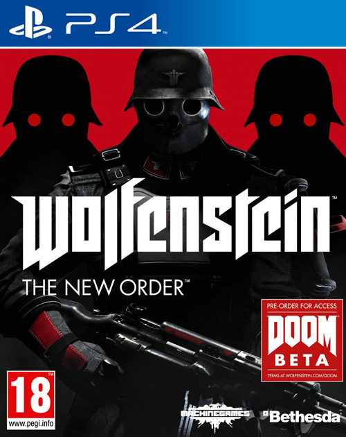 Wolfenstein: The New Order PS4 Cover