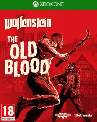 Wolfenstein: The Old Blood XBOX One Cover