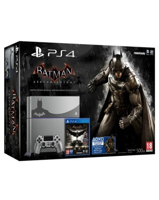 Limited edition batman ps4 console box
