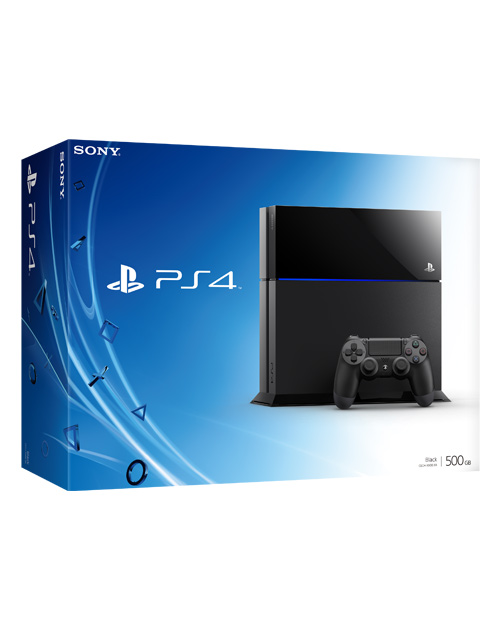Sony-PS4-Console-500GB-Black-Box