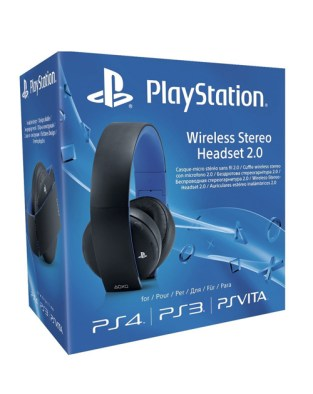 Sony Playstation Wireless Stereo Headset 2.0 on PS4 image