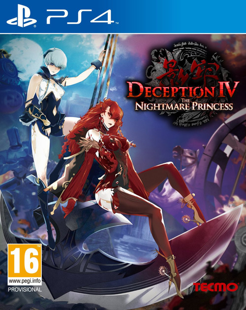 Deception IV: The Nightmare Princess PS4 Cover