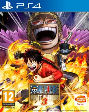One Piece: Pirate Warriors 3 PS4 Cover