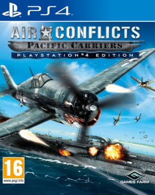 Air Conflicts: Pacific Carriers PS4 Cover