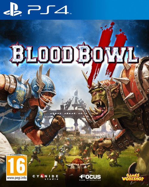 Blood Bowl II  PS4 Cover
