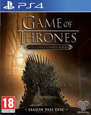 Game of Thrones: A Telltale Games Series PS4 Cover