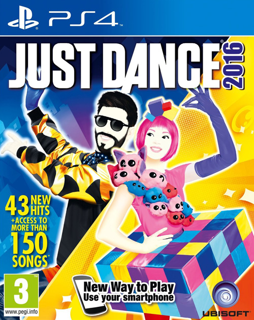 Just Dance 2016 PS4 Cover