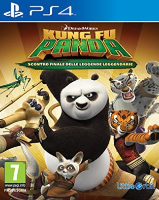Kung Fu Panda: Showdown of Legendary Legends PS4 Cover