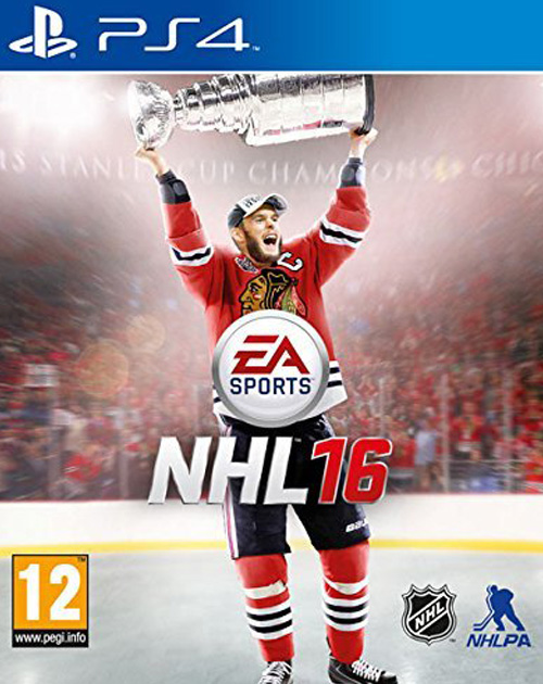 NHL 16 PS4 Cover