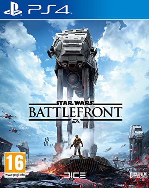 Star Wars: Battlefront PS4 Cover