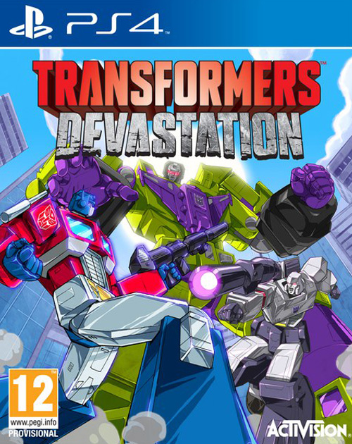 Transformers: Devastation PS4 Cover