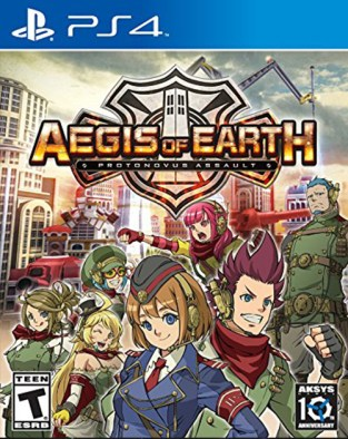 Aegis of Earth: Protonovus Assault PS4 Cover