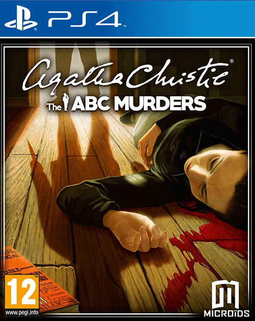 Agatha Christie: The ABC Murders PS4 Cover