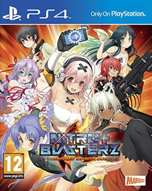 Nitro+ Blasterz: Heroines Infinite Duel PS4 Cover